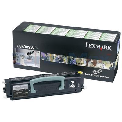 LEXMARK E238 TONER CARTRIDGE BLACK RP